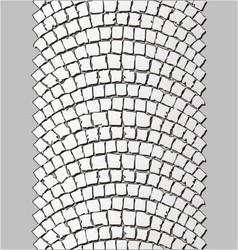 brick stone trackway vector image