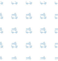 car wash icon pattern seamless white background vector image