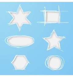 Cutting geometric templates vector