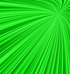 Green abstract ray burst background vector