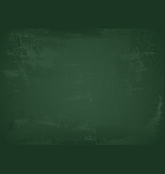 green empty school chalkboard vector image