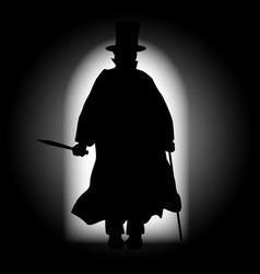 Jack the ripper vector