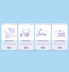 Landing-page vector