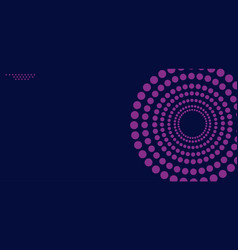 lines in circle form vector image