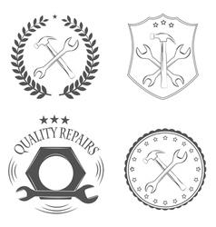 repairs vector image