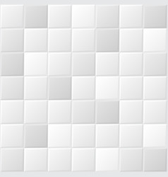 White tile background vector