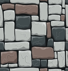Seamless pattern with decorative stones vector image