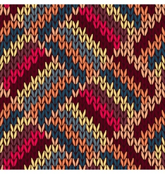 Style Seamless Knitted vector image