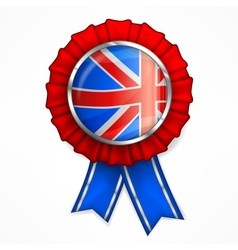British award ribbon vector image