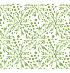 greenery dandelion seamless pattern wallpaper vector image vector image