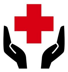 Healthcare icon vector image