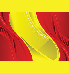 Abstract red and yellow background vector