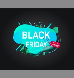 Black friday sale discounts for weekends banner vector