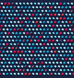 blue circle pattern vector image