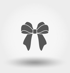 bow universal icon flat vector image