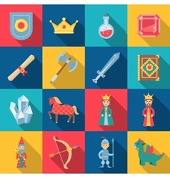 Fairytale Game Set vector image