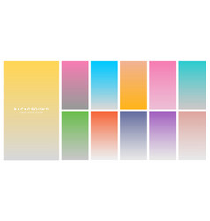 Modern colorful soft background gradients vector