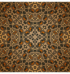 Old carpet pattern vector image