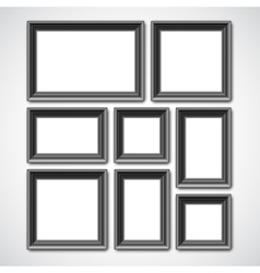 Picture Frames Collage vector image
