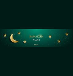 Ramadan kareem concept vector