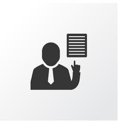 workflow icon symbol premium quality isolated vector image