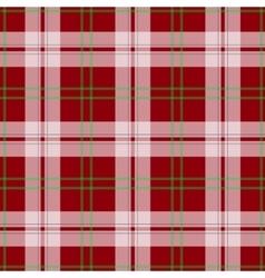 Abstract red tartan christmas seamless vector