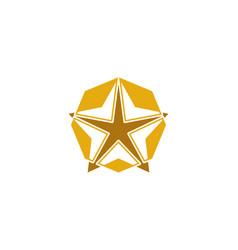 Star logo vector