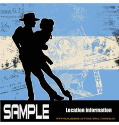 argentine tango vector image vector image