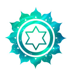 Anahata chakra with outer space vector