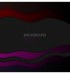 background with waves vector image