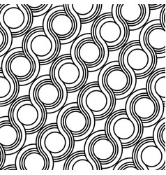 Design seamless spiral twisted pattern vector