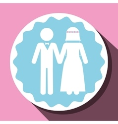 Love and relationship vector image