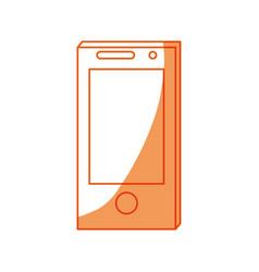 smartphone technology symbol vector image