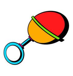 baby beanbag icon icon cartoon vector image vector image