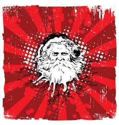 Santa Claus Design vector image vector image