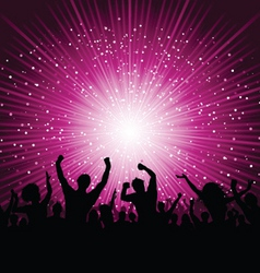 party poster vector image vector image