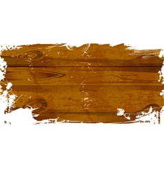 wood grunge vector image vector image
