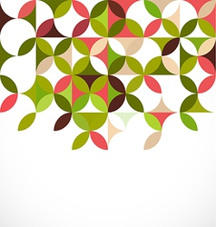 abstract colorful floral pattern concept vector image