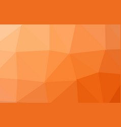 abstract orange polygon geometric background low vector image