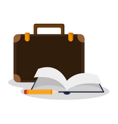 Academic book design vector