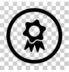 award seal icon vector image