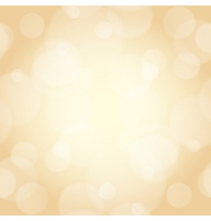 Beige background with bokeh effect vector