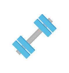 dumbbells sports equipment vector image