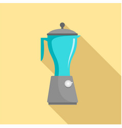 Electric mixer icon flat style vector