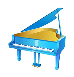 icon piano vector image
