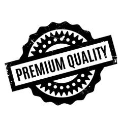 Premium Quality rubber stamp vector image