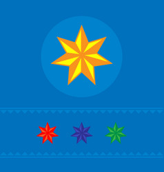 Set of stars of web icons banner vector