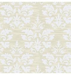 Wallpaper grunge vintage floral seamless pattern vector image