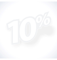 Label percent vector