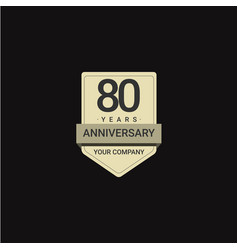 808 years anniversary celebration your company vector